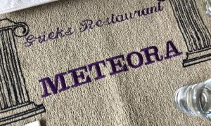 Grieks Restaurant Meteora