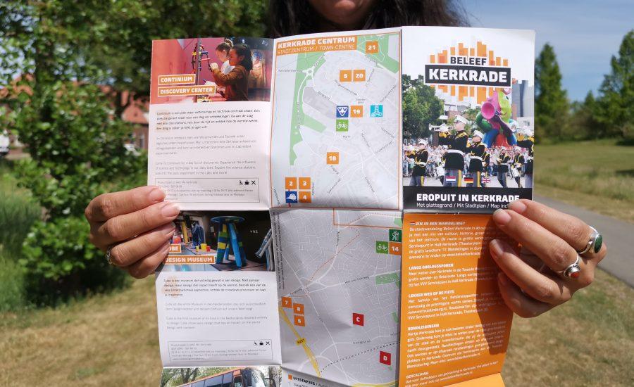 Nieuwe toeristische folder 'Eropuit in Kerkrade'