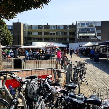 Ondanks corona toch veel ondernemerslust en bedrijvigheid op de wekelijkse markt in Eygelshoven