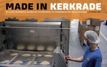 Ondernemerskrant 'Made in Kerkrade' deelt Kerkraadse successen