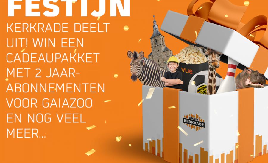 Het Beleef Kerkrade prijzenfestijn – winnaar week 5!