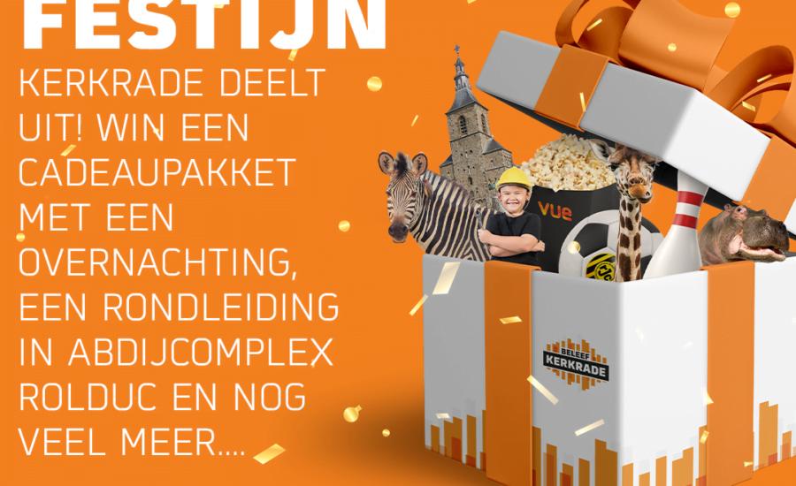 Het Beleef Kerkrade prijzenfestijn – winnaar week 4!